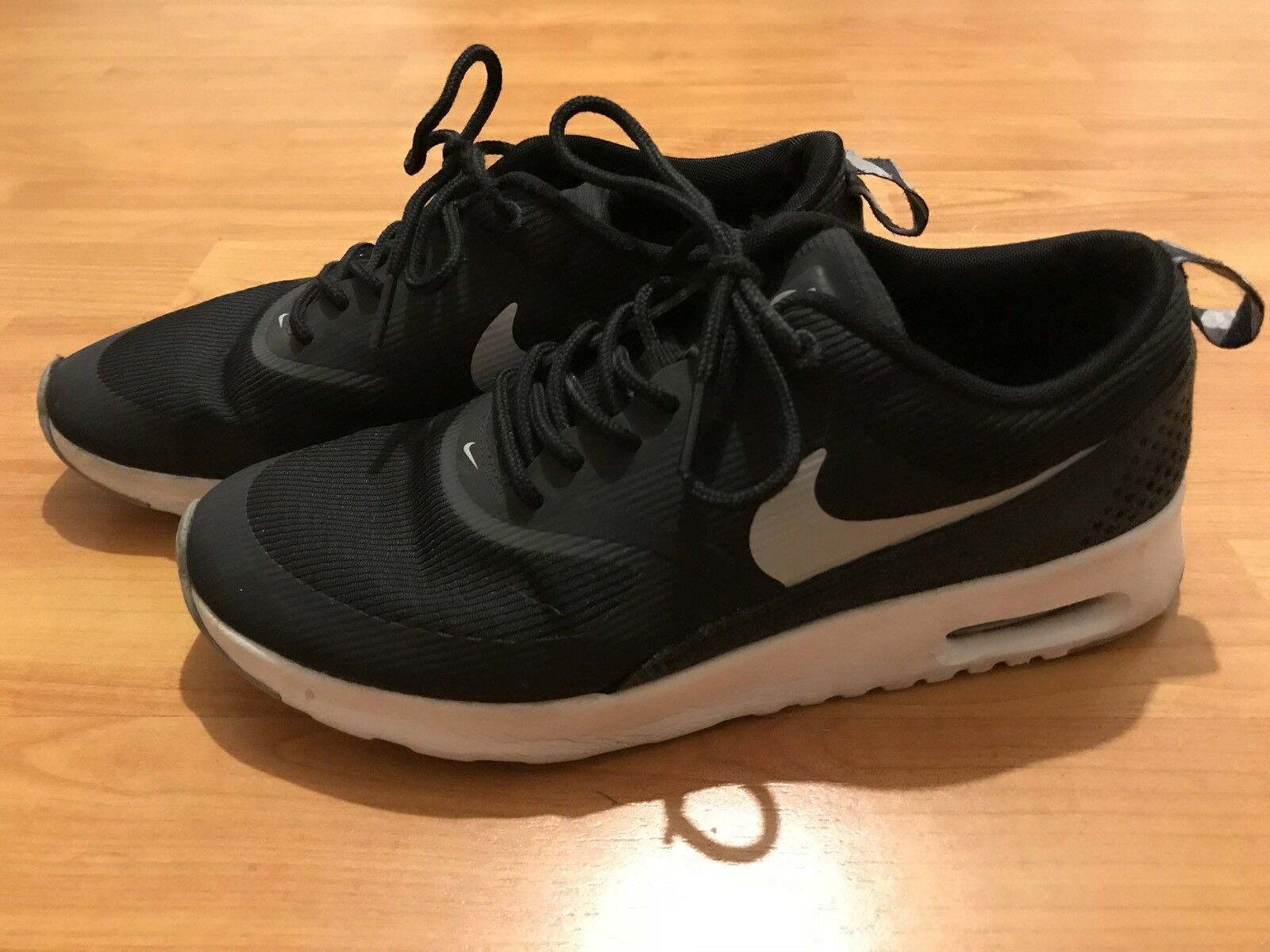 Nike Air Max Thea Mens Black White Running Training Sneakers Shoes Comfortable Brand discount