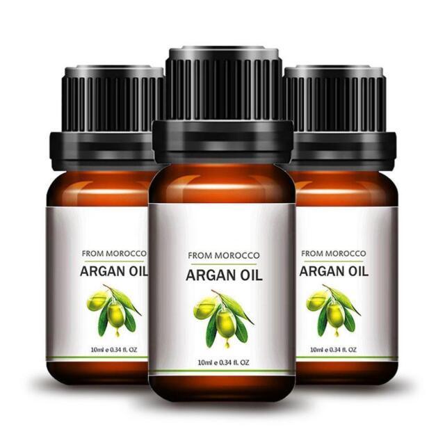 Heiß! Argan Coconut Oil for Hair - Skin, 10ml e 0.34 ft. OZ. Neu Hot