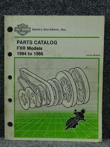 OEM Factory Harley Davidson FXR Models 1984 1985 1986 ...
