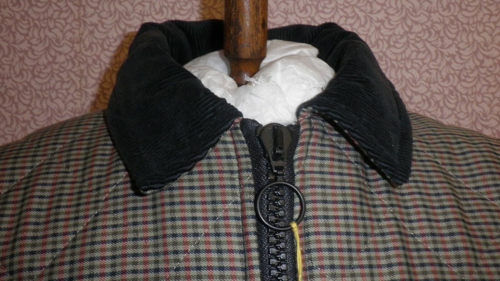 Puffa Imbottito Cappotto Invernale Invernale Invernale Check Misura Da Uomo Piccolo  RRP .95 ora .00  bba474
