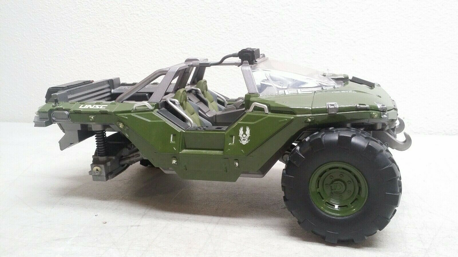 Jada Toys Halo Warthog Large 14  Scale Diecast ( PARTS OR REPAIR ) SOLD AS IS