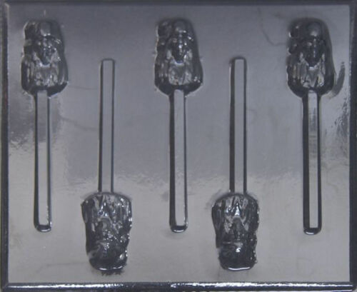 Pirates of the Caribbean Jack Chocolate Lollipop Candy Mold 400 NEW