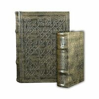 Vintage Classic Celtic Knot Motif Irish Secret Book Box Set Free Shipping