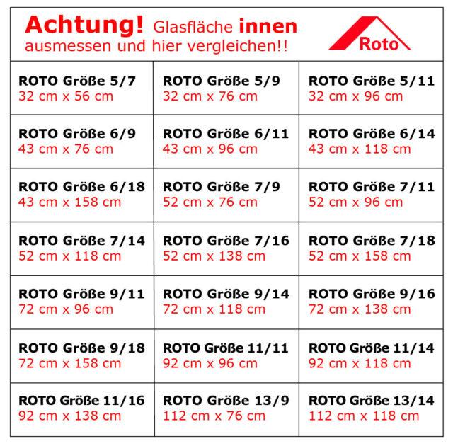 Roto 05//11 = 32x96cm, blau Exsun Roto Sonnenschutz Rollo Dachfenster Verdunkelung Hitzeschutz Thermofix unbedingt Glasfl/äche innen ausmessen und vergleichen !