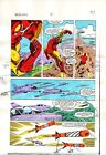 Original 1984 Invincible Iron Man 181 page 14 Marvel Comics color guide artwork