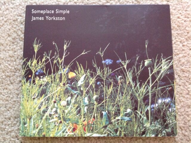 James Yorkston Someplace Simple CD 5 tracks Domino
