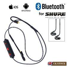 Bluetooth 4.1 Replacement MMCX Cable For Shure SE215 SE315 SE425 SE535 Earphones