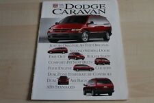 105015) Chrysler Voyager Dodge Caravan USA Prospekt 03/1995