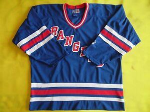 5-5-Vintage-90s-CCM-Maska-New-York-Rangers-Hockey-Jersey-XL-Home-NHL-Messier