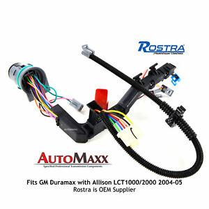 2004-2005 Transmission Wiring Harness - 1000/2000 ALLISON 5 SPEED GM/DURAMAX  | eBayeBay
