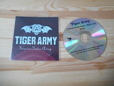 CD Punk Tiger Army - Forever Fades Away (1 Song) Promo HELLCAT REC