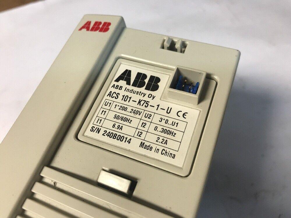 *NEW* ABB AC Drive Speed Controller; 240V # ACS101-K75-1-U