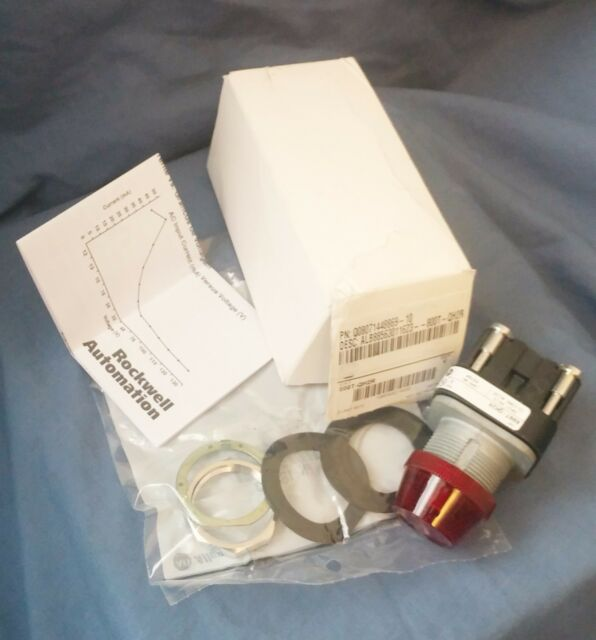 ALLEN BRADLEY Red Pilot Light  800T QH2R - New with Damaged Packaging