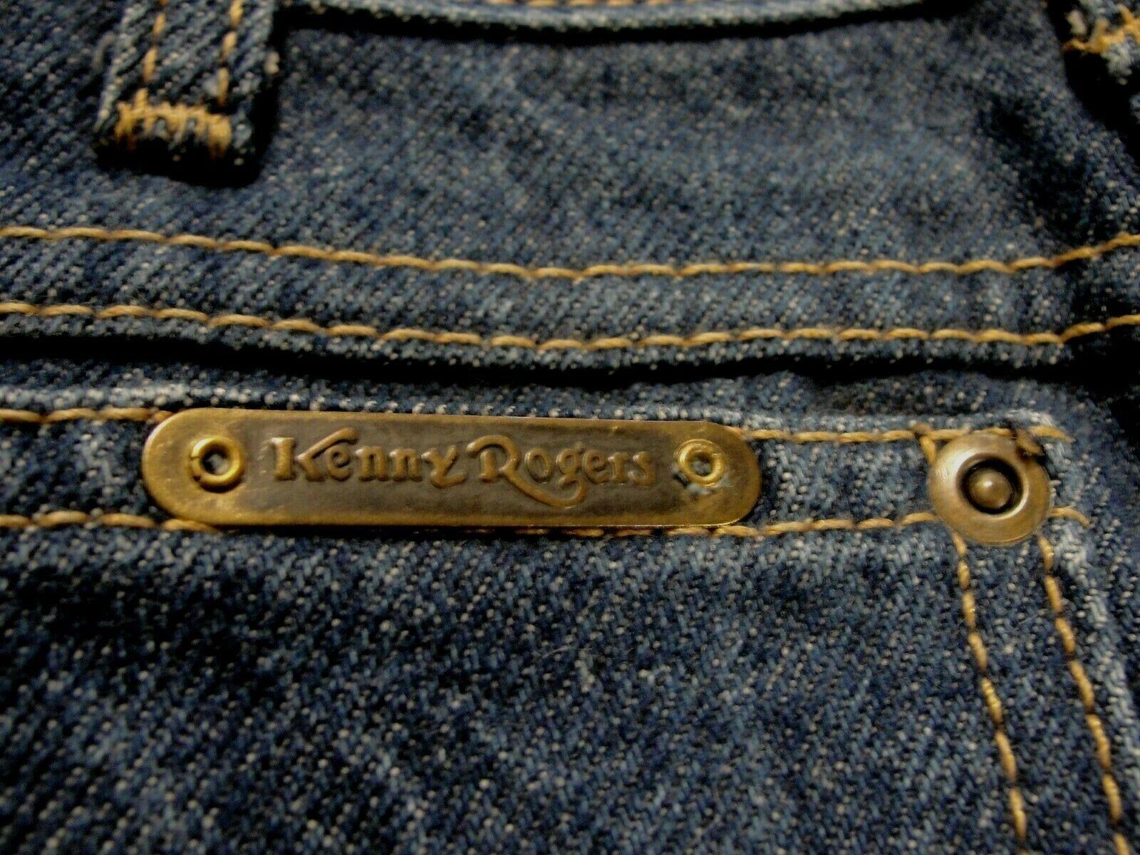 Kenny Rogers Men's Vintage Jean Chaps, Size 26 X … - image 9