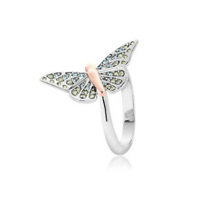 Clogau Silver amp Rose Gold Butterfly Pave Ring 20 OFF RRP 149 SIZE O - <span itemprop='availableAtOrFrom'>Bodelwyddan, Denbighshire, United Kingdom</span> - Returns accepted Most purchases from business sellers are protected by the Consumer Contract Regulations 2013 which give you the right to cancel the purchase within 14 d - <span itemprop='availableAtOrFrom'>Bodelwyddan, Denbighshire, United Kingdom</span>