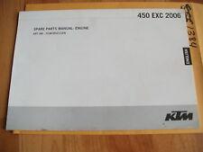 2006 KTM 450 EXC Engine Parts Manual