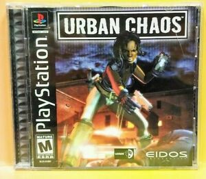 Urban Chaos ~ Playstation 1 2 PS1 PS2 Game Mint Disc Complete 1 Owner