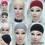 Women-Ladies-Under-Scarf-Hijab-TIE-BACK-Bone-Bonnet-Cap-17-Colours-Stretchable thumbnail 1
