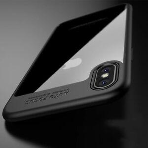 iPhone-X-Auto-Focus-Handyhuelle-Case-Schutz-Cover-Bumper-duenn-Handytasche-Slim