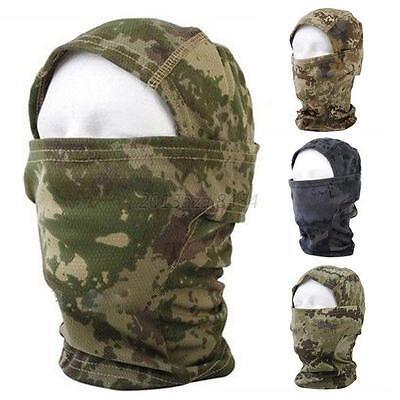 Camouflage Color Men Women Face Protection Balaclava Outdoor Ski Facemask A34