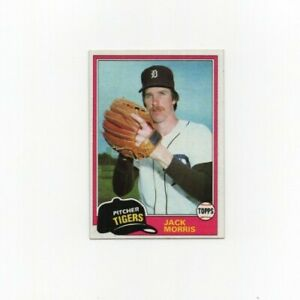 1981-Topps-Jack-Morris-Baseball-Card-572-Detroit-Tigers-HOF