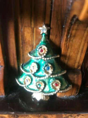 Vintage Christmas Tree Brooch To Choose Spilla Albero di Natale A Scelta Rare