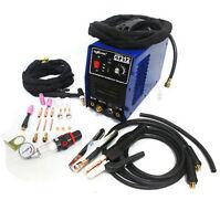 110/220v Tig/mma Welder + Plasma Cutter 3in1 Welding Machine + Accessories Ct312