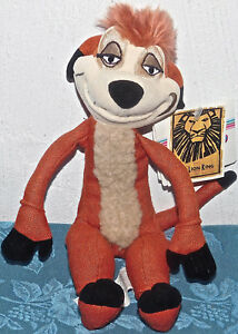 11-034-Disney-beanbag-plush-Broadway-Musical-LION-KING-TIMON-w-Tags-FREE-SHIP-TOY