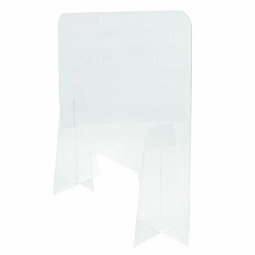 DS82C Acrylique Magasin caisse éternuer Garde virus Bouclier toux protection Diviseur