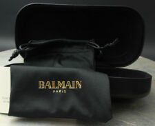 eeb5ffd4e7a1 item 4 New Balmain Paris Authentic Clam shell Sunglasses Case with Cloth  Carrying Bag -New Balmain Paris Authentic Clam shell Sunglasses Case with  Cloth ...