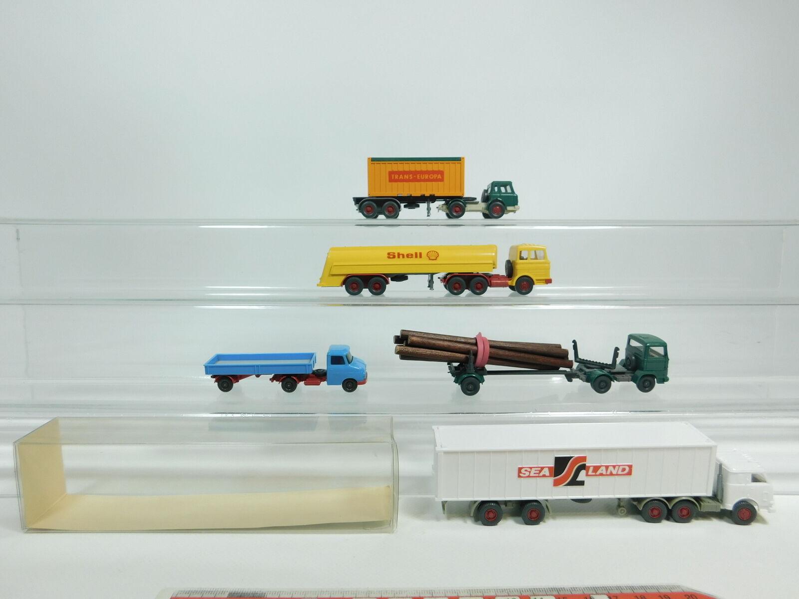 BD362-0, 5     5 X Wiking H0   1 87 Modelo  Opel + Mercedes   MB + Harvester+ 0ff267