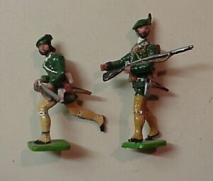 Two 54mm Roger's Rangers Figures 1750's French Indian Wars