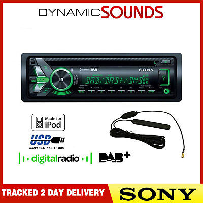 SONY MEX-N6001BD 55 x 4 Watts DAB Radio Bluetooth CD MP3 USB Car Stereo & Aerial