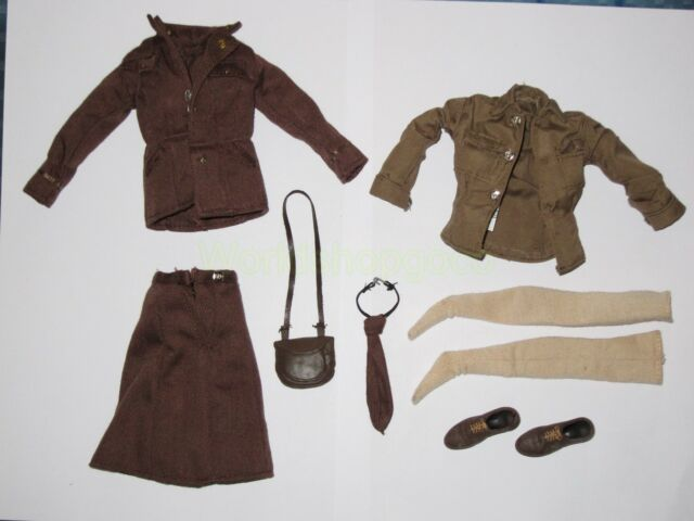 1/6 WWII 21st Century The Ultimate Soldier US Woman's Army set for 12