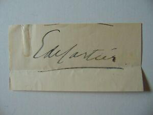 034-Belgian-Diplomat-034-Emile-de-Cartier-de-Marchienne-Cut-Signature-Todd-Mueller-COA