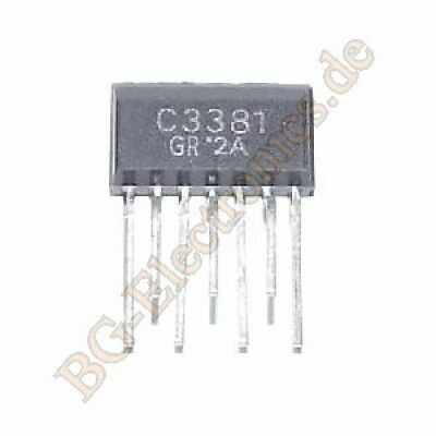 1 x 2sc3381-gr 100ma 400mw 80v Toshiba 2-10m1b 1pcs