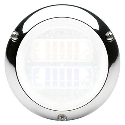 NEW!!! Whelen FLANGE 97 Series Chrome Plated Light Flange