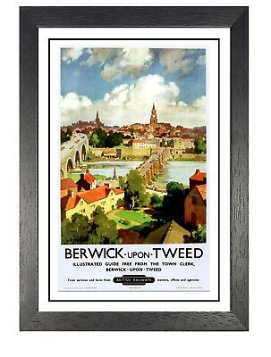 Berwick Upon Tweed 2 Travel Holiday Beautiful View Poster Wealden East Sussex