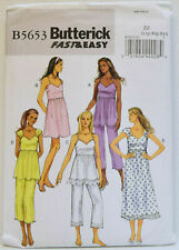 XXL Size XSM Butterick B6215 Fast /& Easy PATTERN Misses Top