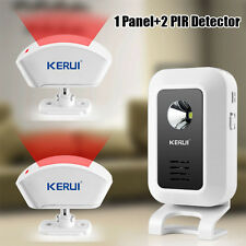 PIR MOTION SENSOR DETECTOR DOOR GATE ENTRY BELL CHIMES ALERT ALARM DOORBELL