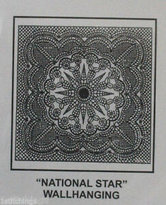 Antique Tea Dye Pre-Printed Wholecloth Quilt Top National Star 40 ... : preprinted quilt tops - Adamdwight.com