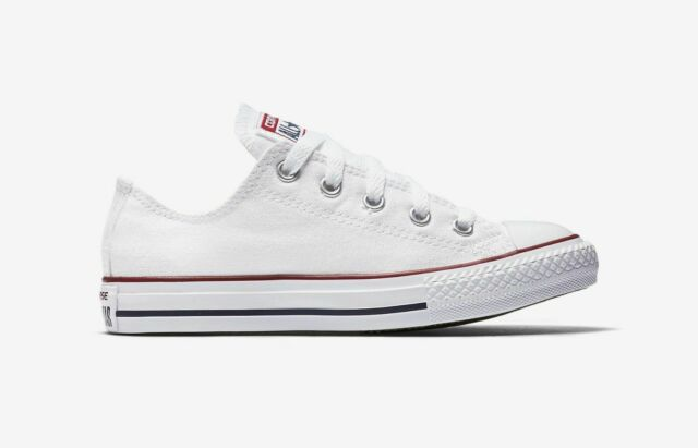 Converse Little Kids' CHUCK TAYLOR ALL STAR OX LOW TOP Shoes Optical White  3J256