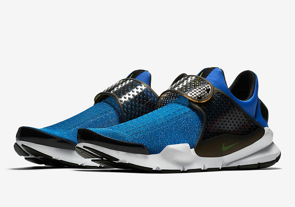 NIKE SOCK DART KJCRD blueeE JAY VOLT STAR blueeE BLACK SLIP ON MENS SZ 9