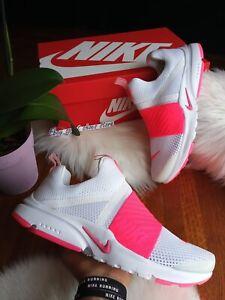 5Y | 6.5 Para Mujer Nike Presto Extreme Max Blanco Rosa ...