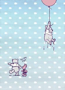 Brillant Winnie The Pooh - Disney Foto-tapete - Winnie Pooh Piglet - Größe 184x254 Cm - 4 Sang Nourrissant Et Esprit RéGulateur