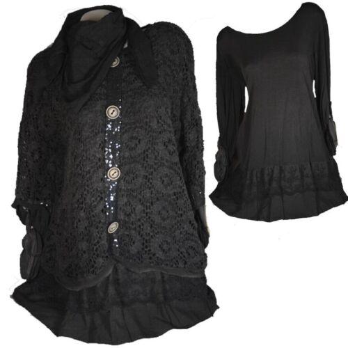 Spitze Pullover Winter Tunika 46 Mohair 48 Lagenlook 44 Kleid Xl Damen Twinset L aYZw4Iaq
