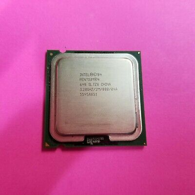 Intel Pentium 4 640 SL8Q6 Socket 775 3.2GHz Cpu Processor