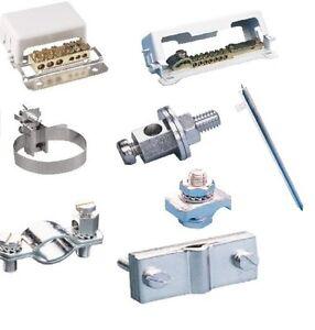 Erdungsklemme-Erdungsschiene-Erdungsmaterial-Bandschelle-Staberder ...