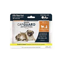 Sentry Capguard (nitenpyram) Oral Flea Tablets 2-25 Lbs 6 Count Free Shipping