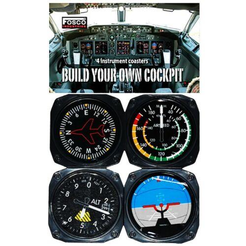 Set Cockpit sotto bicchieri 4 pezzi escursionismo outdoor VO 469490
